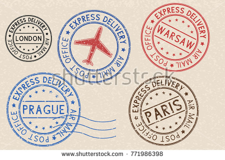 Passport Stamp Vector Free