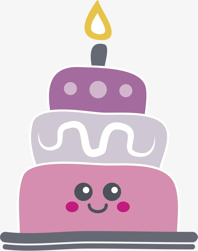 650x824 Cartoon Smiley Cake, Cartoon Vector, Smiley Vector, Cake Vector