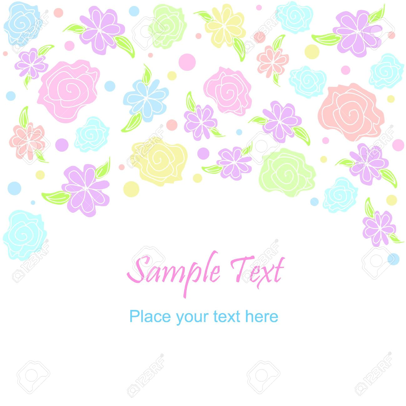 1298x1300 Flower Clipart Library Download Pastel Color