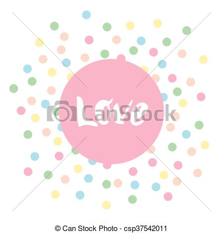 450x470 Abstract Pastel Vector Background. Vector Illustration Of A