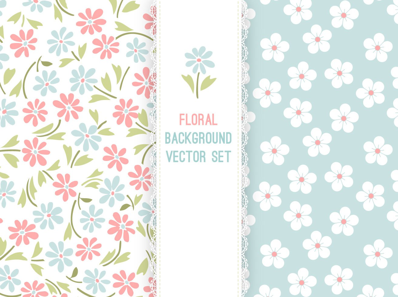 1312x980 Free Vector Pastel Floral Background Vector Art Amp Graphics