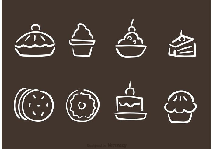 700x490 Hand Drawn Bakery And Pastry Vectors