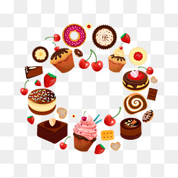 260x261 Pastries Vector Png, Vectors, Psd, And Clipart For Free Download
