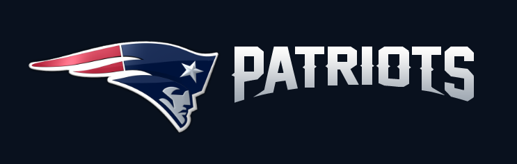 743x236 Brand New New Logo For New England Patriots