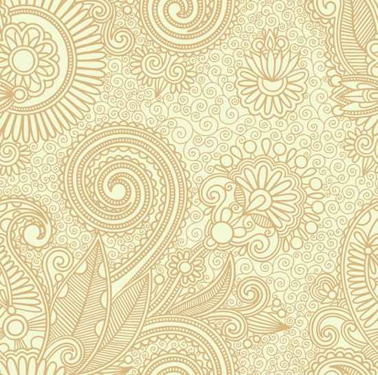 550x546 Free Vector Floral Pattern Background Psd Files, Vectors