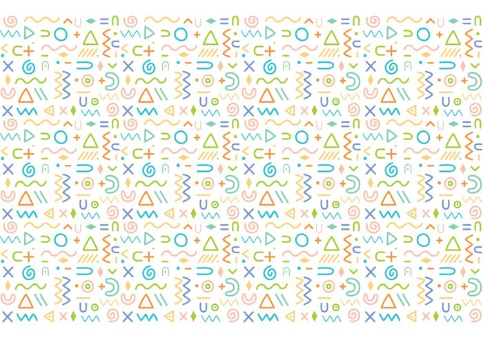 700x490 Abstract Pattern Background Vector 108382
