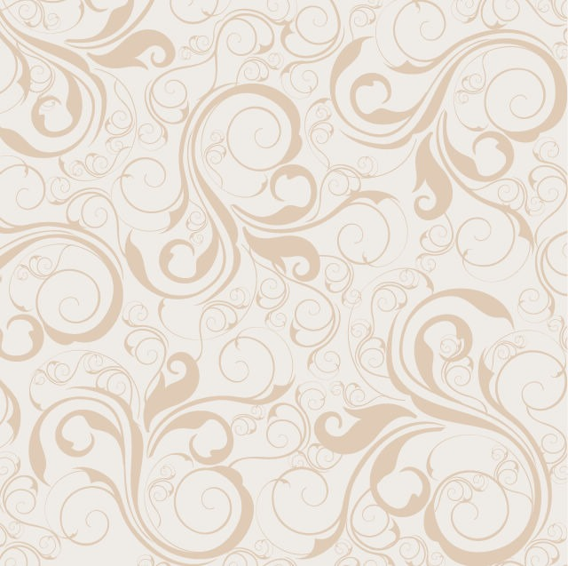 640x637 Seamless Floral Pattern Background Vector Graphic Free Vector