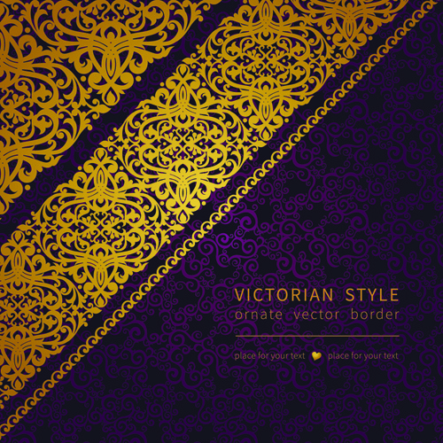 500x500 Victorian Ornate Floral Pattern Background Vector Free Vector In