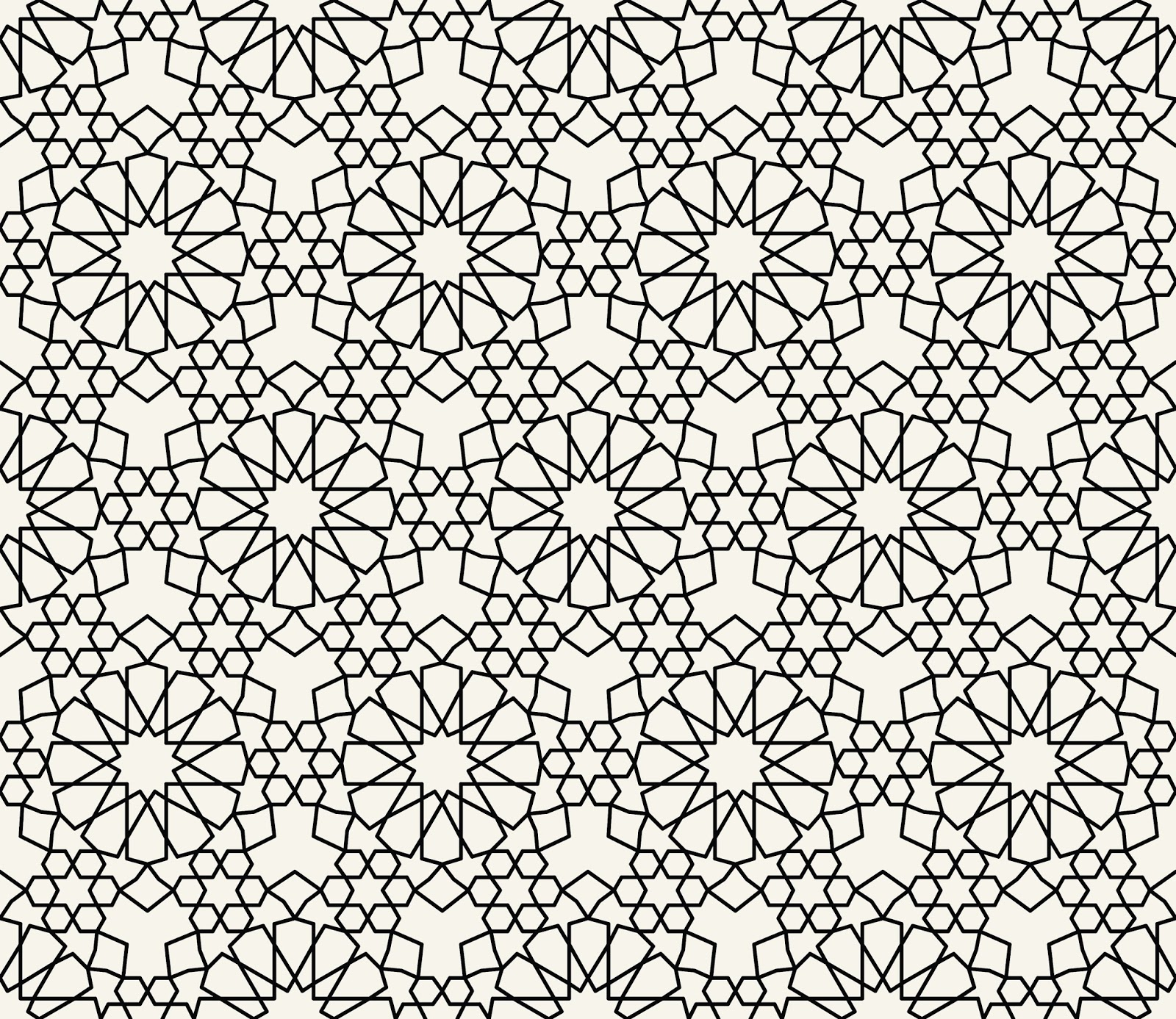 1600x1387 Islamic Inspired Pattern Vector Free Pattern Vectors