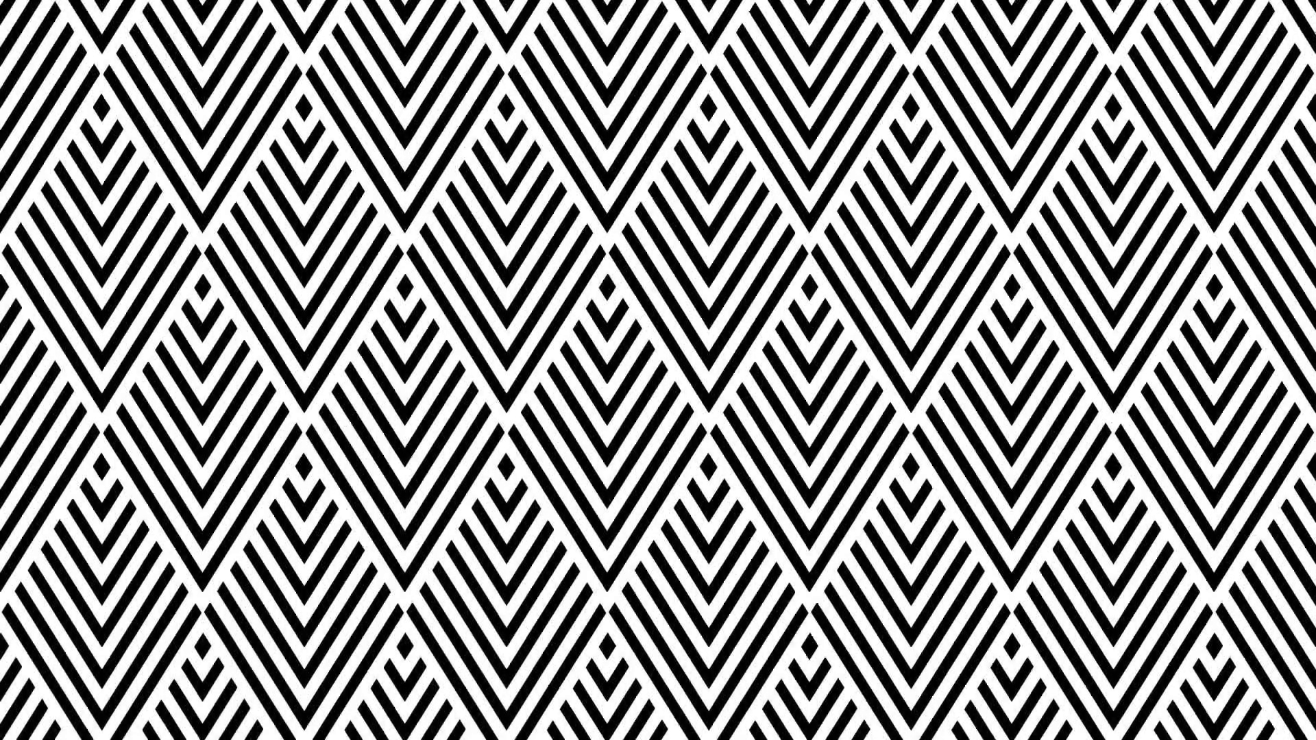 1920x1080 Vector Art Deco Pattern Background Motion Background