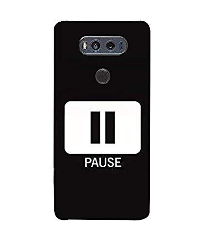 425x478 Fuson Pause Vector Icon 3d Hard Polycarbonate Designer Amazon.in