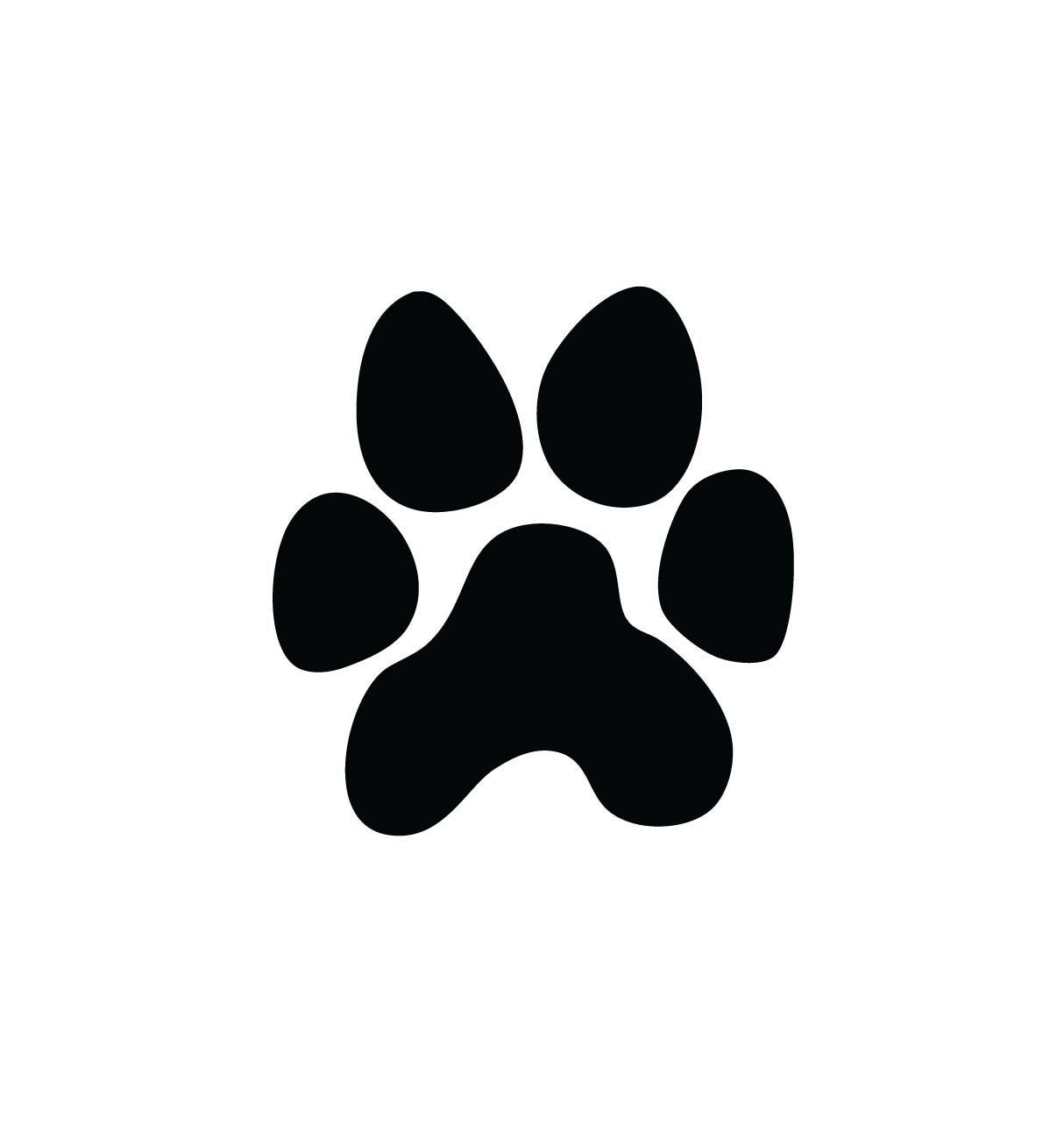 1214x1282 Dog Paw Print Vector Art