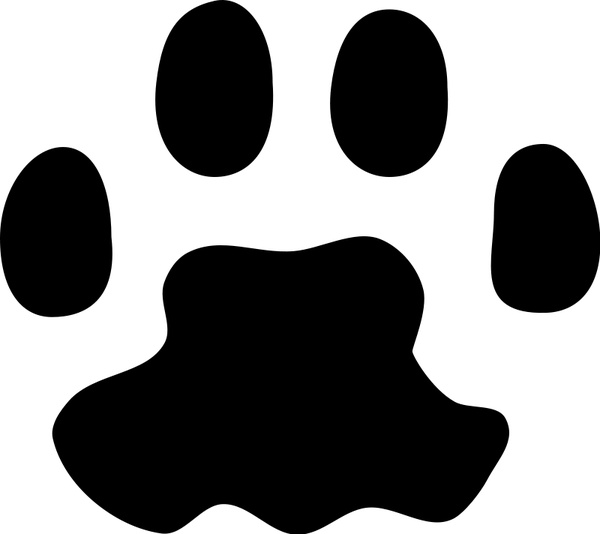 600x534 Paw Print Vector Art Cat Paw Print Free Vector In Open Office