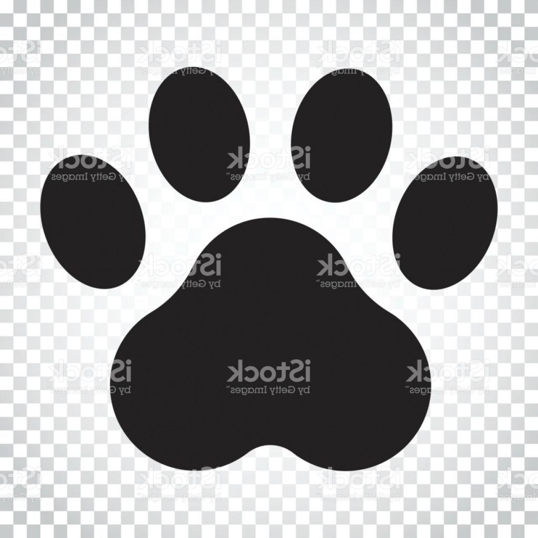 1228x1228 Paw Print Vector Icon Dog Or Cat Pawprint Illustration Animal