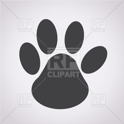 400x400 Paw Print Icon Vector Image Vector Artwork Of Objects Tumdee