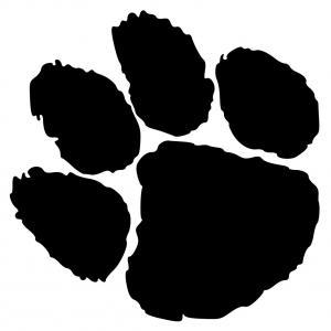 300x300 Tiger Paw Print Clip Art Sohadacouri