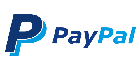 480x240 Paypal Vector Logos