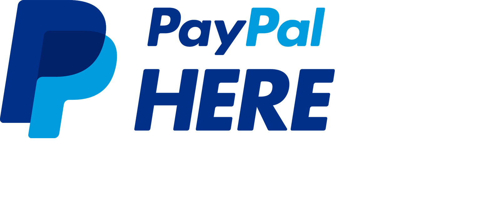 1533x632 Paypal Here Logo Vector