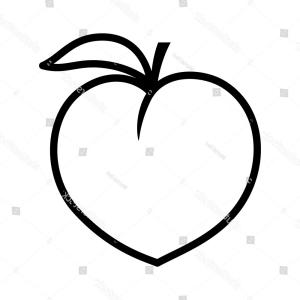 Peach Emoji Vector at GetDrawings com | Free for personal