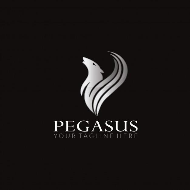 626x626 Pegasus Vector Logo Design Vector Premium Download