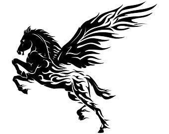 340x270 Pegasus Vector Etsy