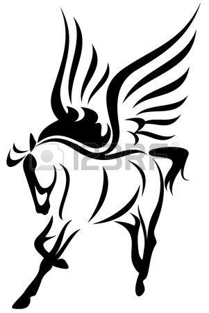 301x450 Pegasus Vector Illustration