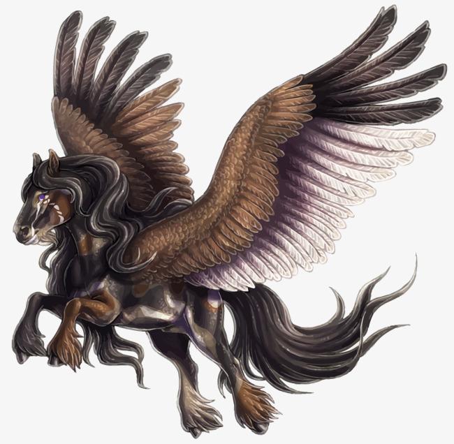 650x636 Vector Pegasus, Pegasus, Hand Png And Vector For Free Download