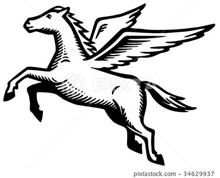 450x364 Pegasus, Vector, Vectors
