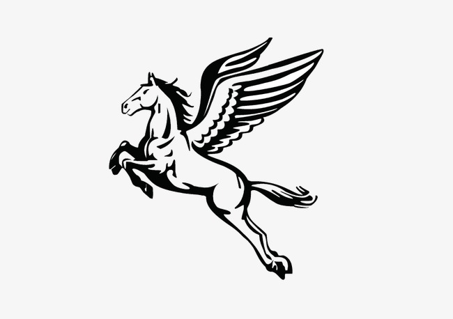 650x458 Pegasus, Vector, Hand Painted Png Image And Clipart For Free Download