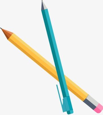 360x402 Vector Flat Automatic Pencil Pen, Vector, Flat, Pencil Png And