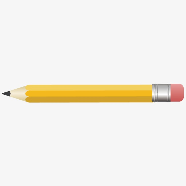 650x650 Flat Pencil, Pencil Vector, Pencil, Flat Png And Vector For Free
