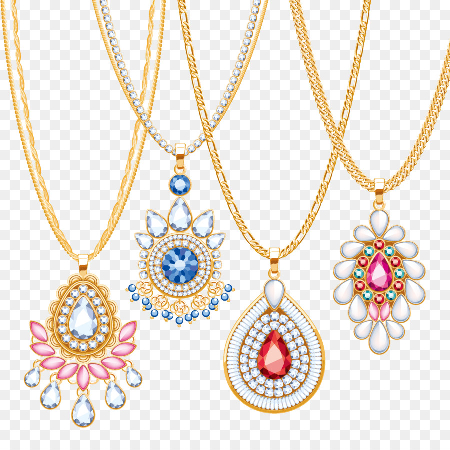 900x900 Necklace Jewellery Chain Gold Pendant