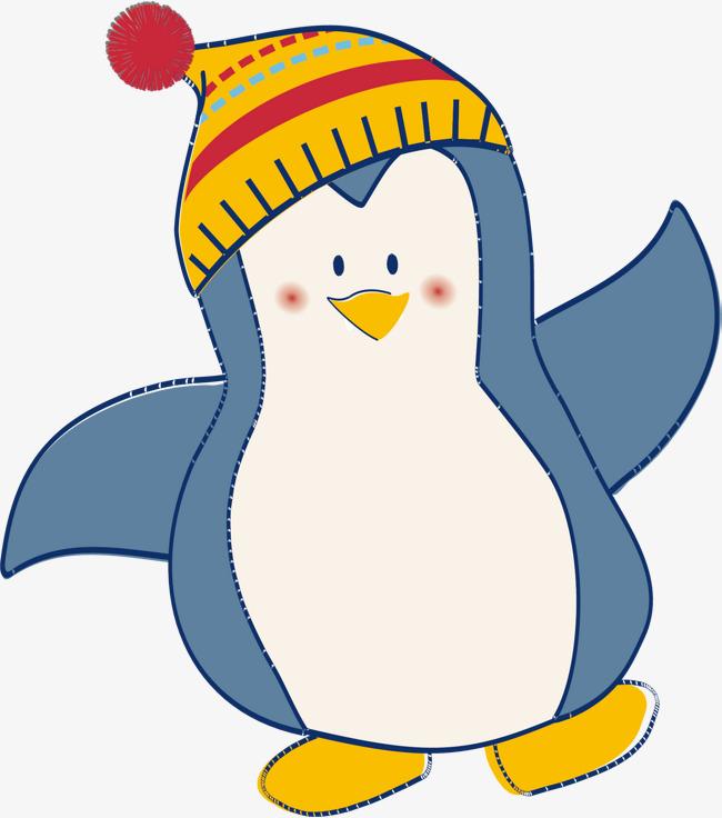 650x736 Cartoon Animal Penguin Vector, Cartoon Vector, Animal Vector