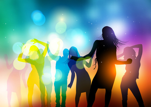 500x354 People Dancing Vector Free Vector Download (6,887 Free Vector) For