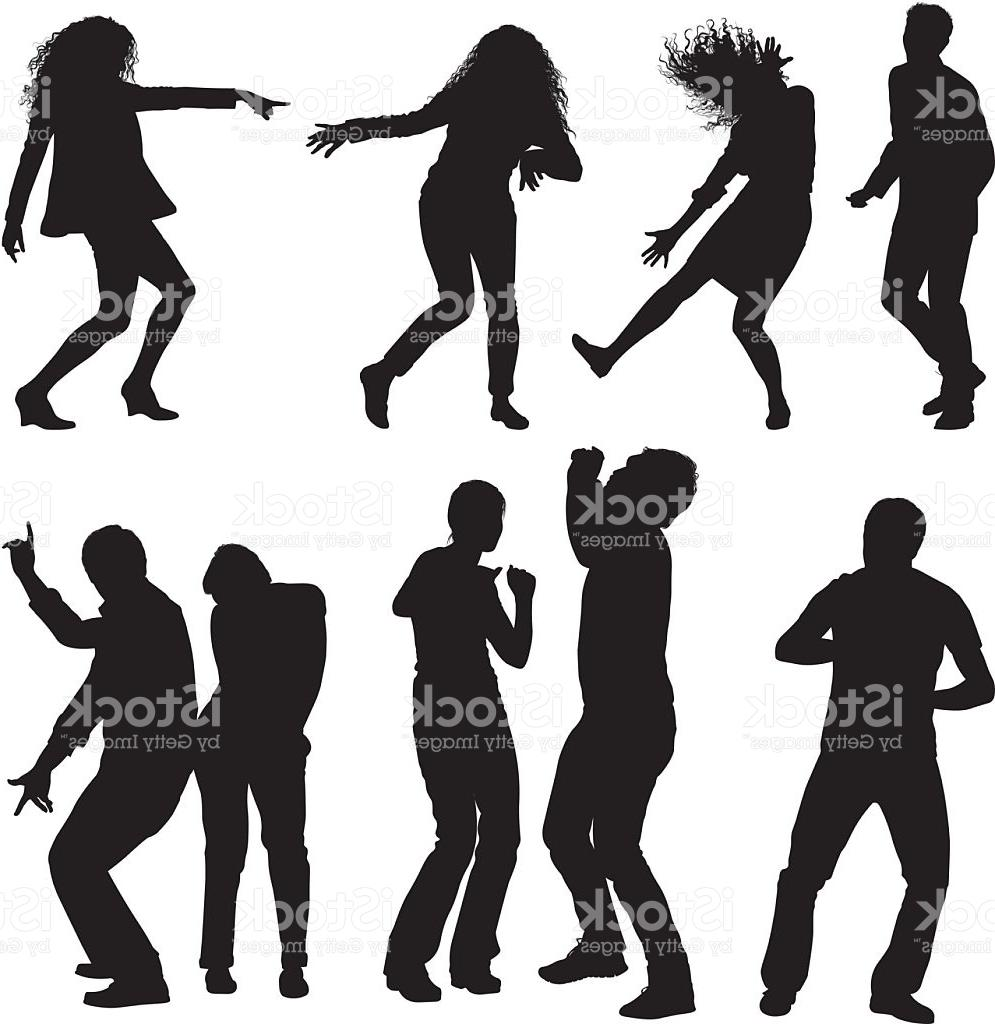 995x1024 Unique Silhouettes Of People Dancing Vector Images