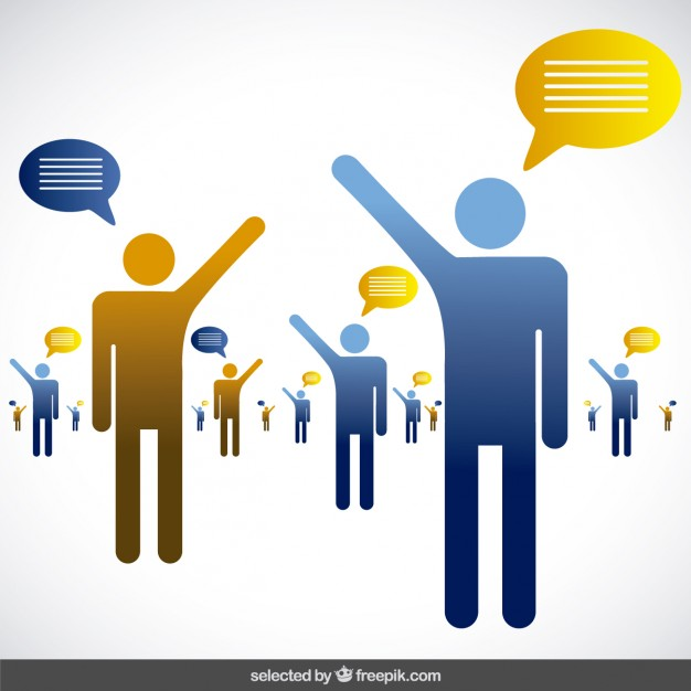 626x626 People Talking Vector Free Download