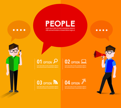 410x368 People Talking Speech Free Vector Download (7,324 Free Vector) For