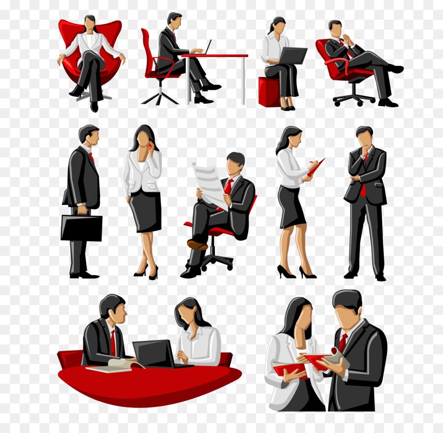 900x880 Businessperson Royalty Free Illustration