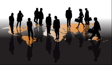 452x264 Different Business People Vector Background Set 05 Free Download