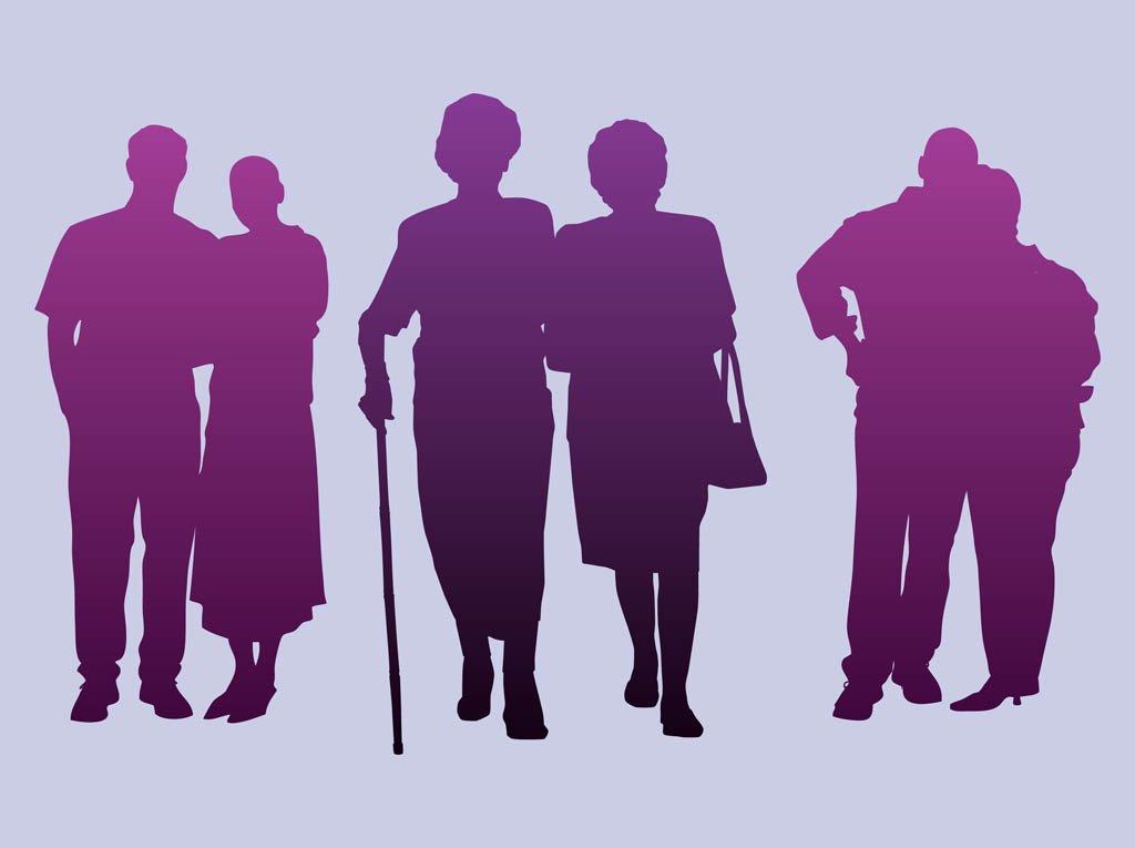 1024x765 Elderly People Vector Art Amp Graphics