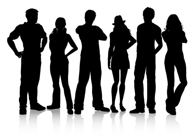 629x456 20 Free Silhouettes Vector Packs