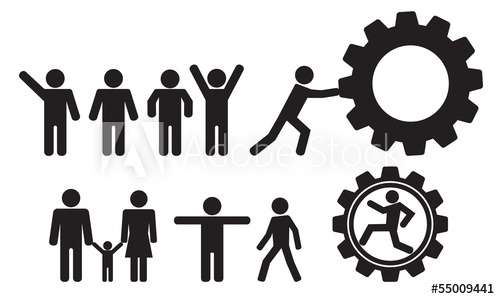500x299 Person And People Vector Icon Set