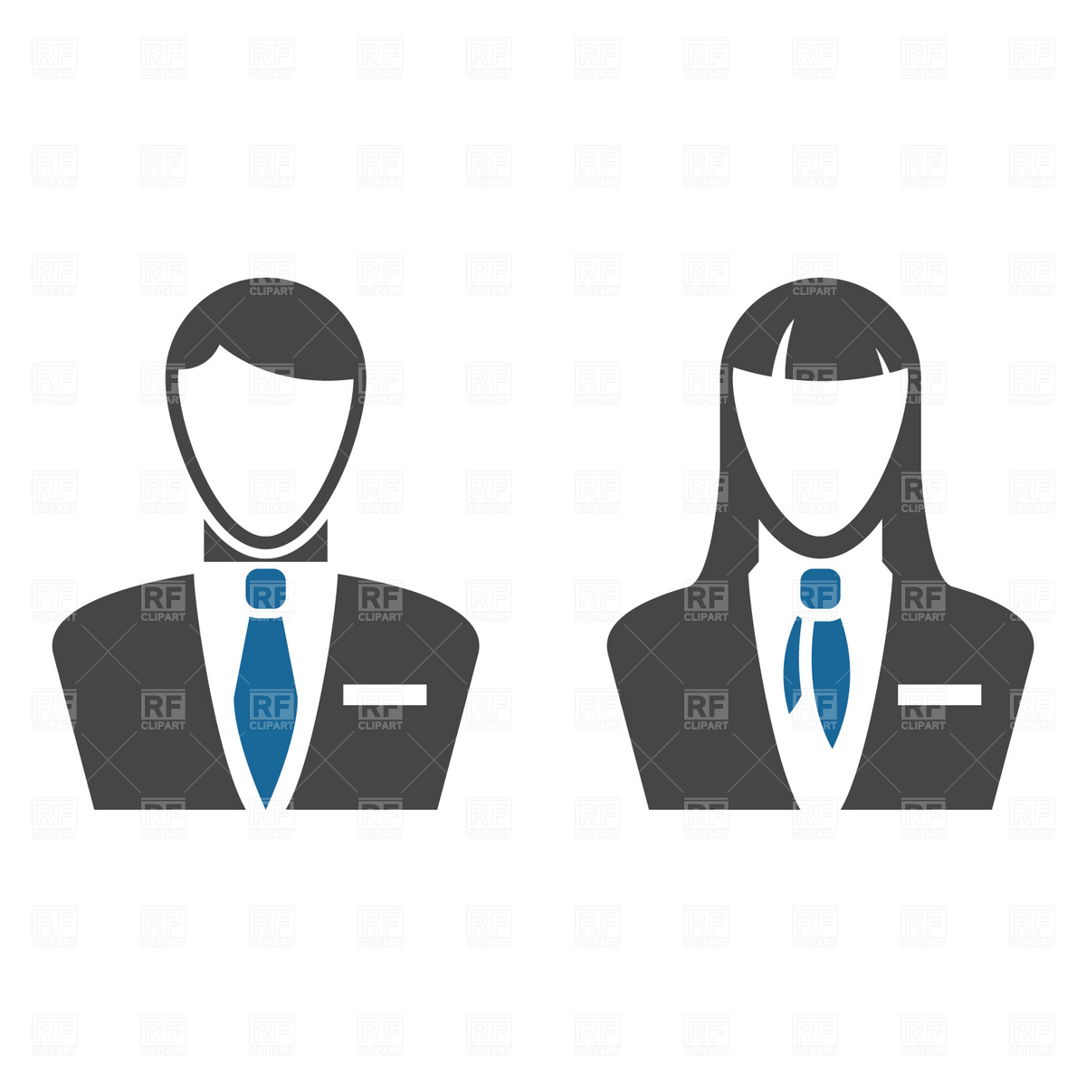 1200x1200 Business People Icons Vector Image Vector Artwork Of People