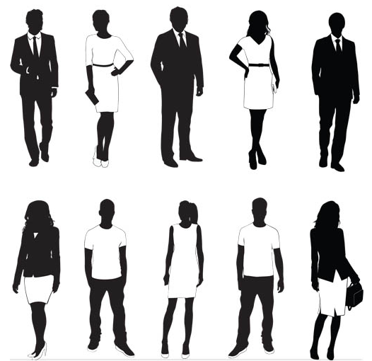 526x510 Young Working People Vector Ai Format Free Vector Download
