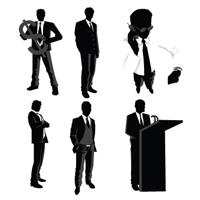 200x200 Best Of, Free Vector Business People Silhouette Packs