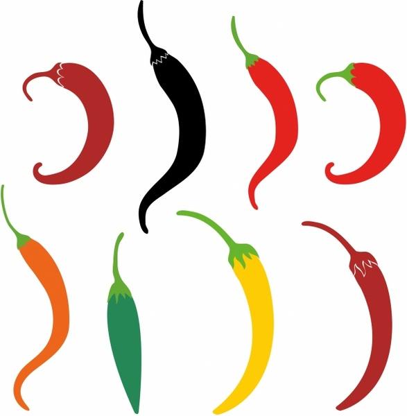 587x600 Chili Pepper Free Vector In Adobe Illustrator Ai ( .ai