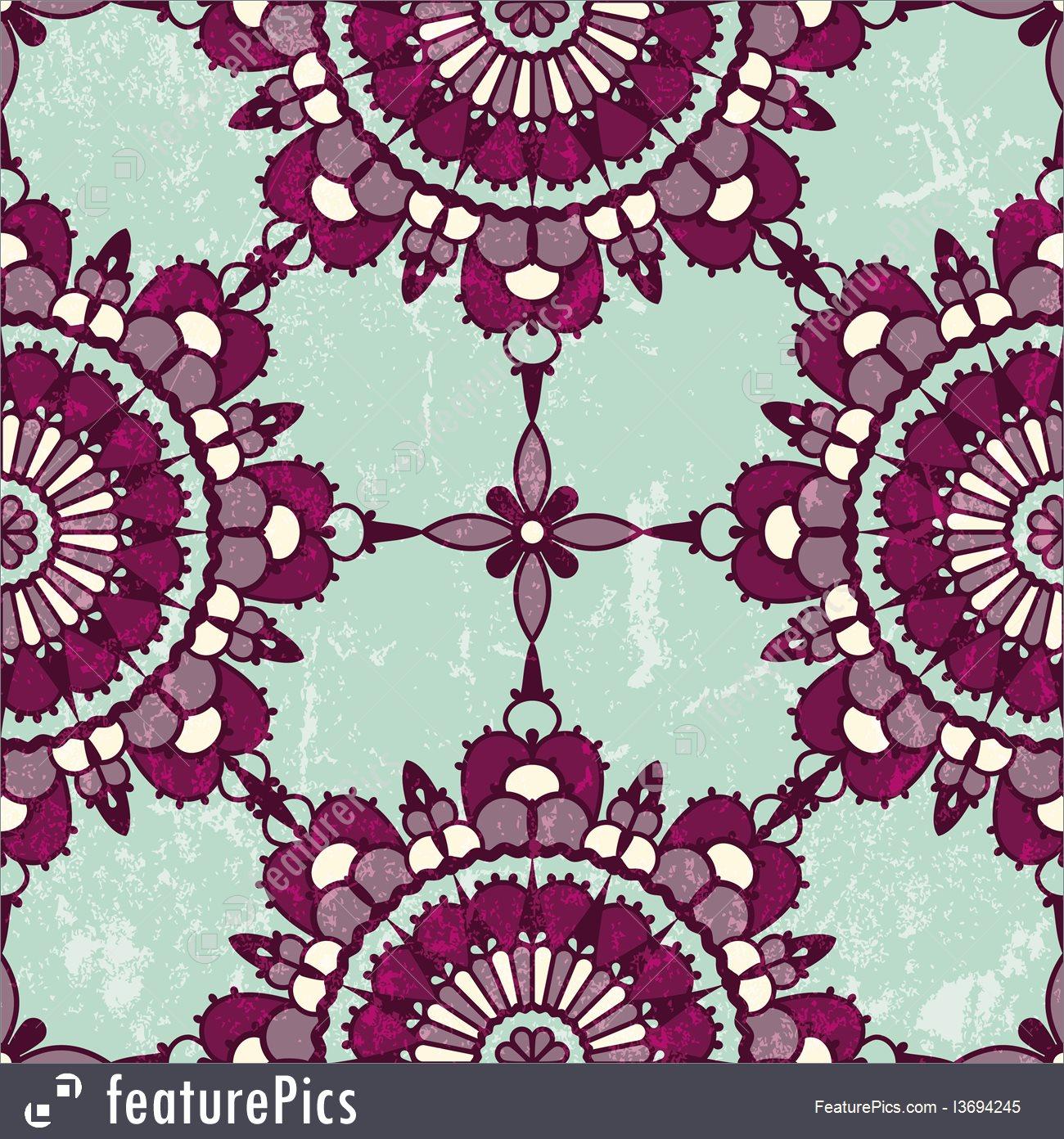 1300x1392 Abstract Patterns Persian Grunge Seamless Pattern.