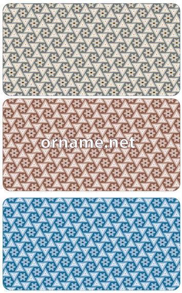355x570 Stars Amp Triangles Persian Pattern