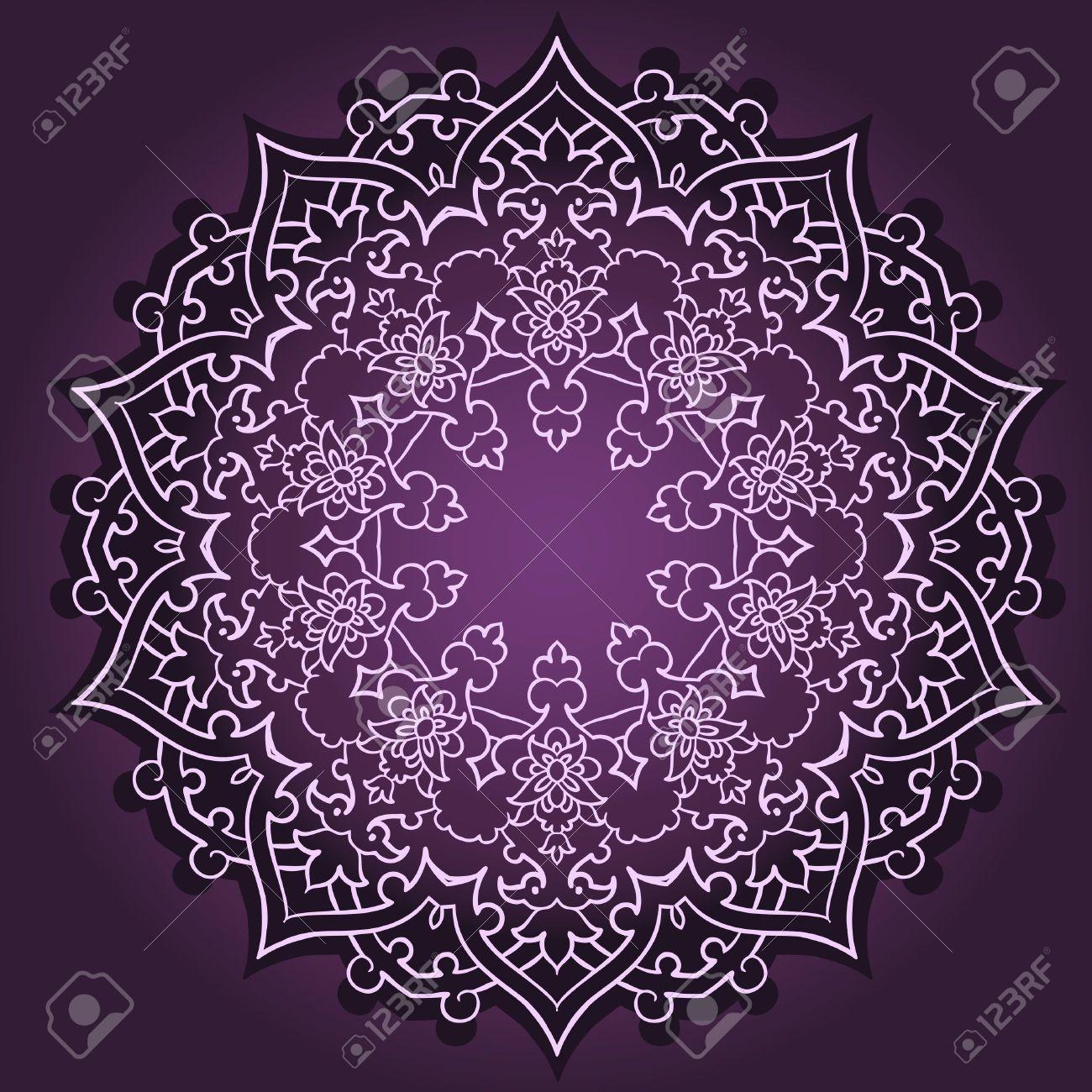 1300x1300 Vector Of Traditional Persian Arabic Turkish Islamic Pattern