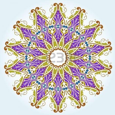 450x450 Vector Of Traditional Persian Arabic Turkish Islamic Pattern Photo